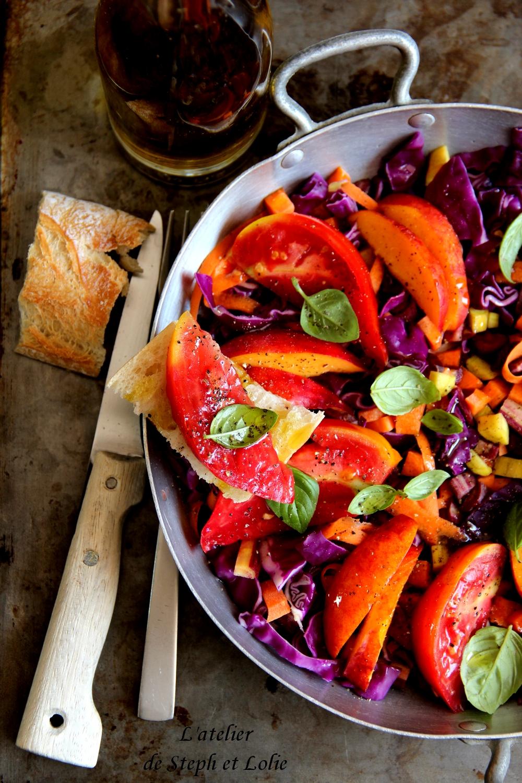 salade tomate choux nectarine1
