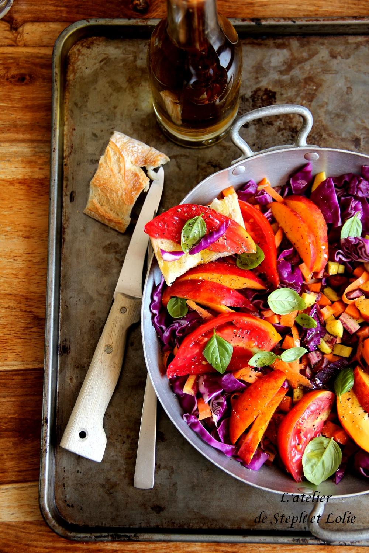 salade tomate choux nectarine2