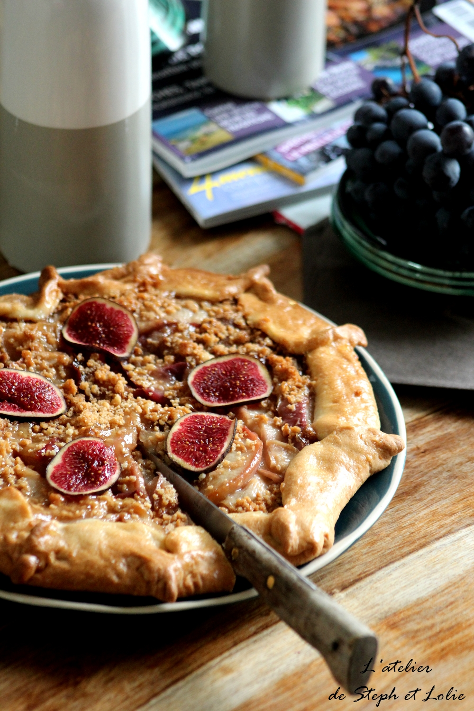 tarte petit lu nectarine2