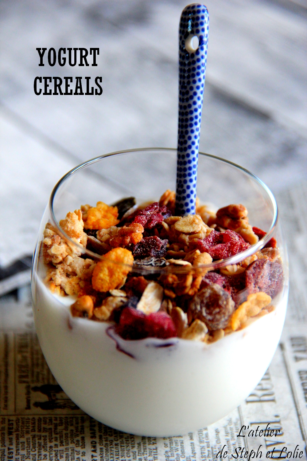 Yogurt cereals