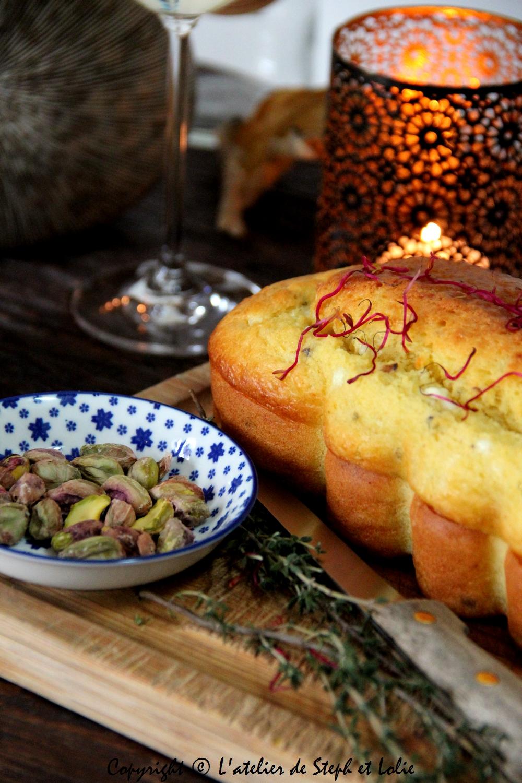 Cake feta pistache cap cuisine1