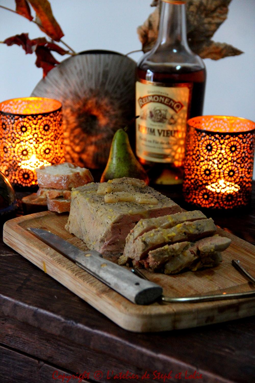 Foie gras à la poire