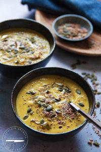 velouté, soupe, légumes, photo et recette l'atelier de Steph et lolie