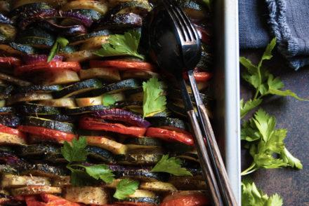 Un délicieux Tian de légumes au four
